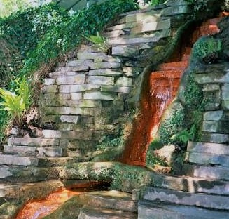 Chalice Well Cascade 2002