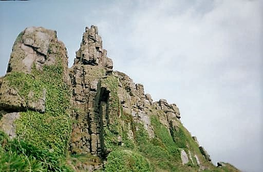 Cliff Face Saint Michael's 2002