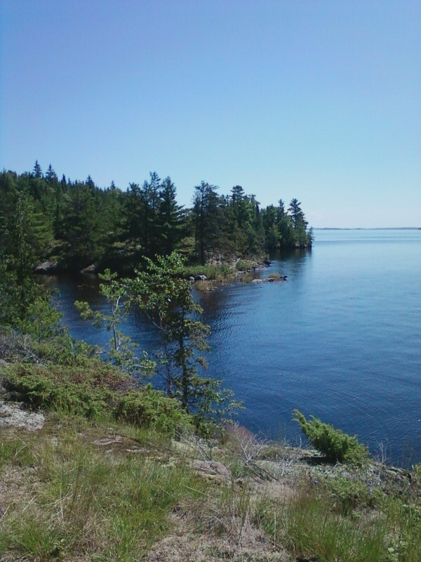 Dryweed Island, Rainy Lake, International Falls, MN